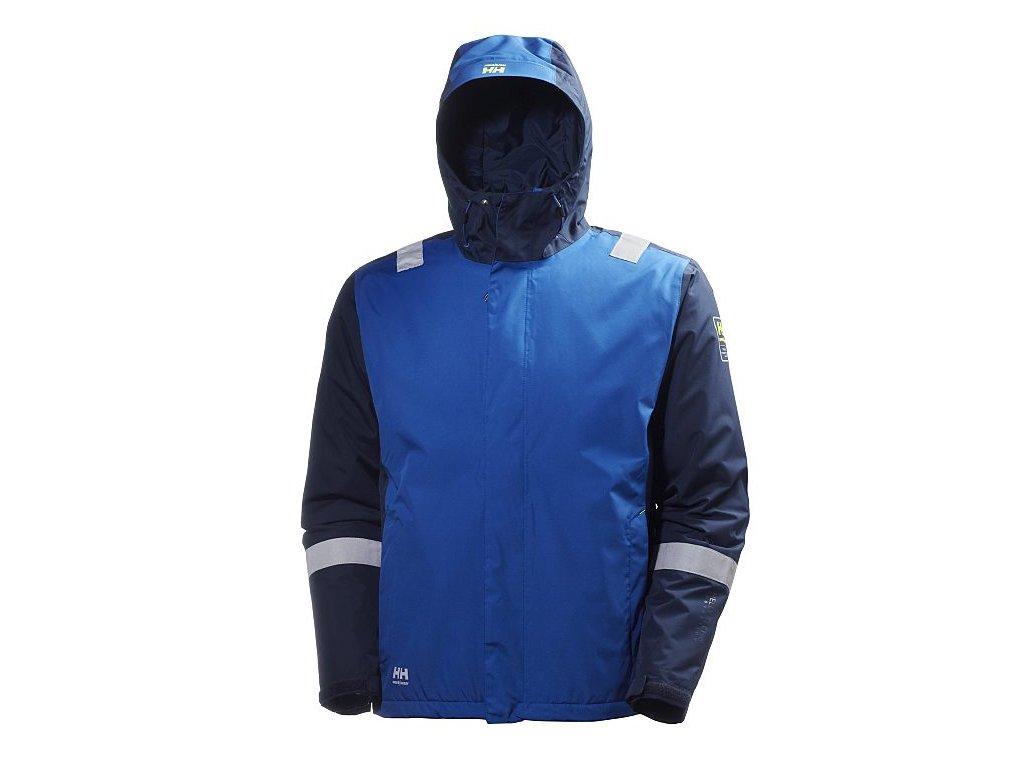 Zimní bunda AKER Helly Hansen - modrá