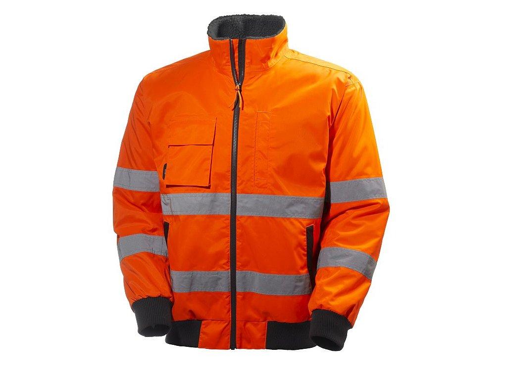 Reflexní bunda ALTA PILOT Helly Hansen - oranžová Hi-Vis