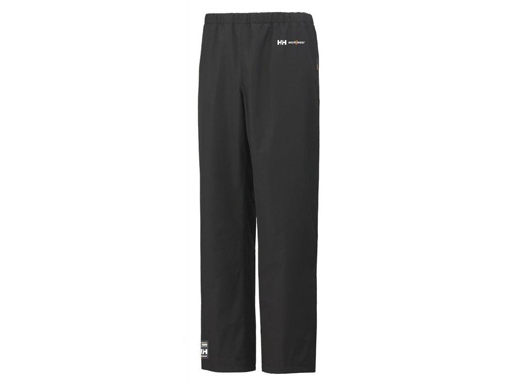 Nepromokavé kalhoty GENT Helly Hansen XS černá