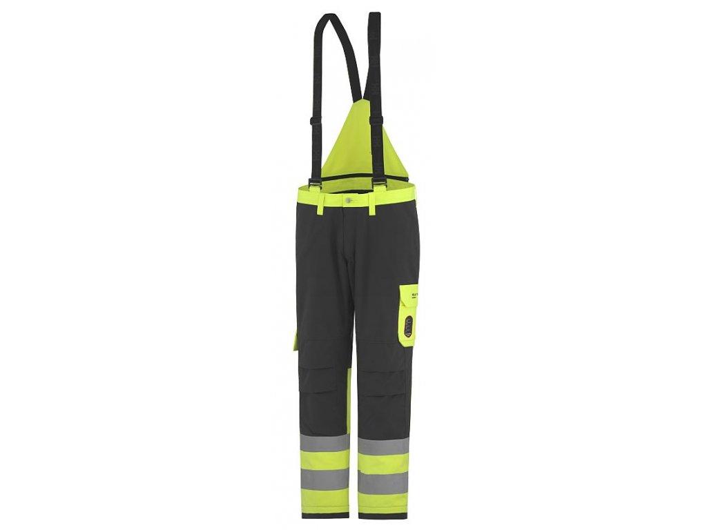 Zimní kalhoty ABERDEEN CL1 žlutá Hi-Vis