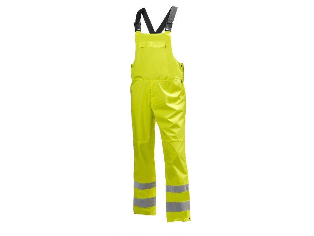 Reflexní laclové kalhoty ALTA SHELTER Helly Hansen - žluté Hi-Vis
