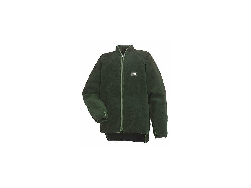 Oboustranná bunda BASEL Helly Hansen - tmavě zelená S