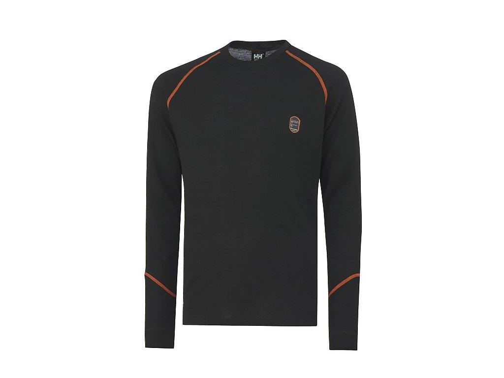 Spodní tričko Fakse LS černá