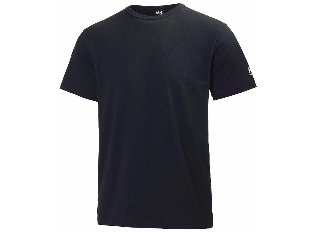 Spodní prádlo s krátkým rukávem HH LIFA Helly Hansen - černé XS černá