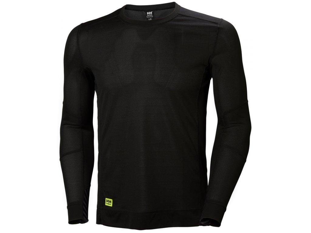 Spodní prádlo s dlouhým rukávem HH LIFA Helly Hansen - černé XS černá