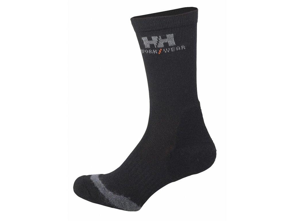Ponožky FAKSE černá