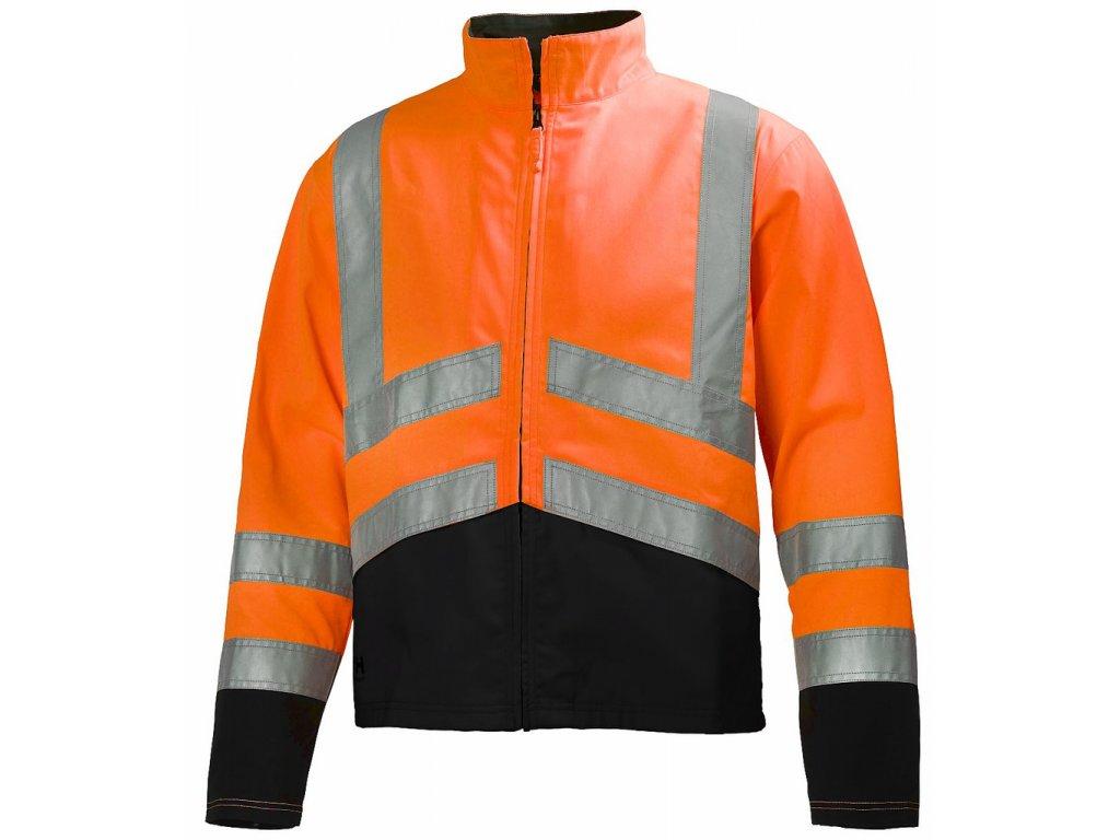Reflexní bunda ALTA Helly Hansen - oranžová XS oranžová Hi-Vis