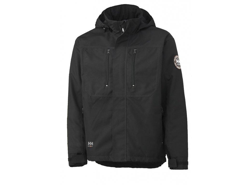 Zimní bunda BERG - černá S černá