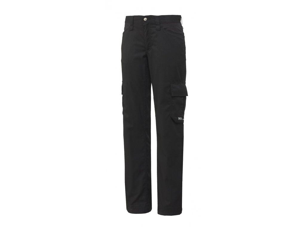 Dámské kalhoty DURHAM SERVICE Helly Hansen 32 černá