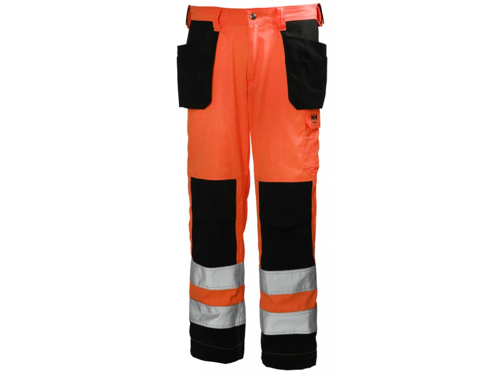 Reflexní řemeslnické kalhoty ALTA Helly Hansen CL2 - oranžové 44 oranžová Hi-Vis