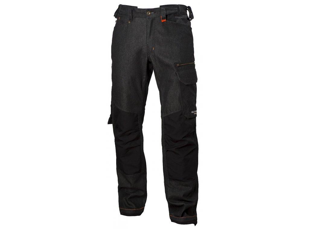 Pracovní kalhoty MJOLNIR Helly Hansen - černá