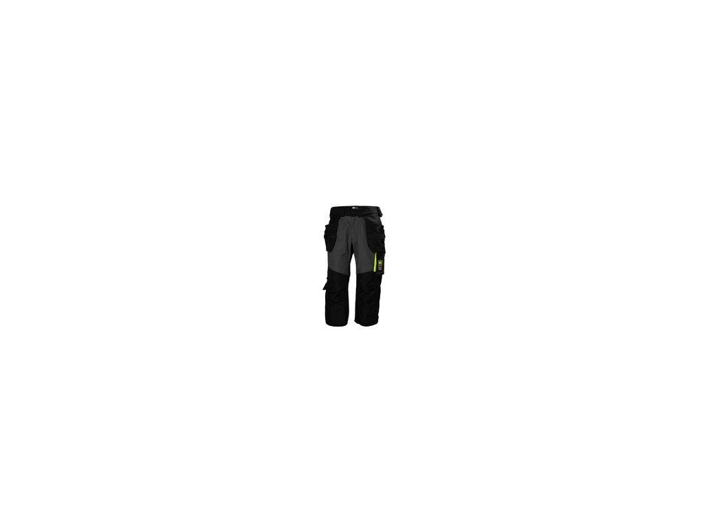 Pirátské kalhoty Aker - černé