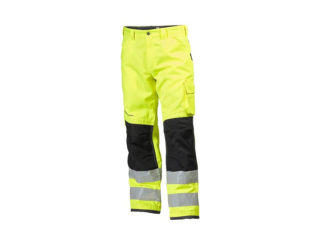 Reflexní kalhoty Alna CL2 - žlutá/černá Hi-Vis