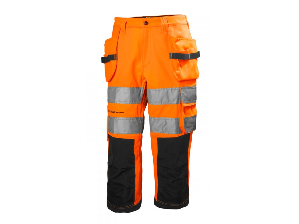 Reflexní 3/4 kalhoty ALNA Helly Hansen - oranžové 44 oranžová Hi-Vis