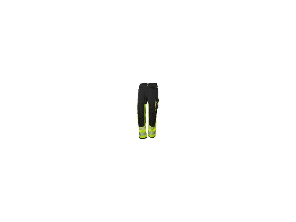 Strečové kalhoty ICU Helly Hansen 44 žlutá Hi-Vis