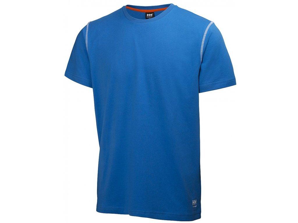 Tričko OXFORD - modrá S modrá