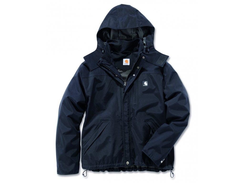 Bunda Carhartt černá Waterproof Breathable Jacket