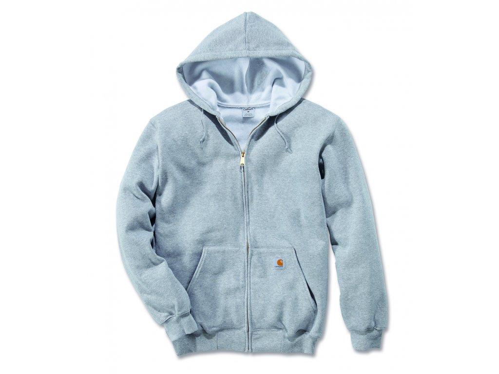 Mikina Carhartt Midweight Hooded Zip-Front Swearshirt