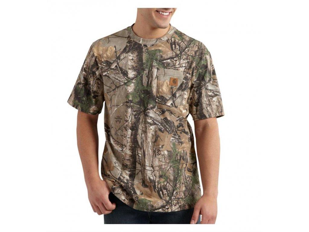 LIMITOVANÁ EDICE triko Carhartt Workwear Camo Short Sleeve T-shirt