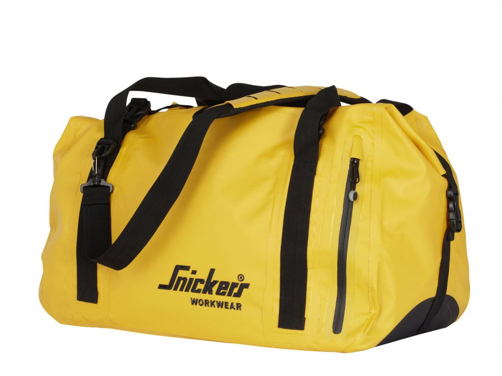 Snickers Workwear Taška přes rameno voděodolná 40 l žlutá