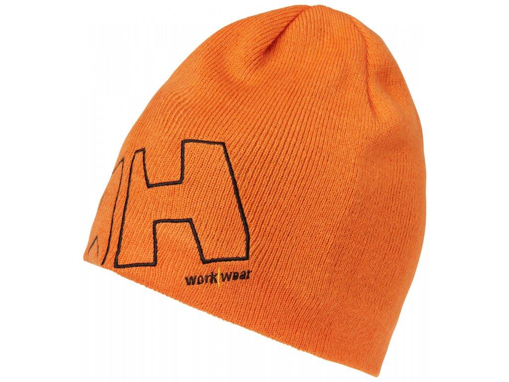 Kulich HH WW BEANIE - oranžový UNI oranžová