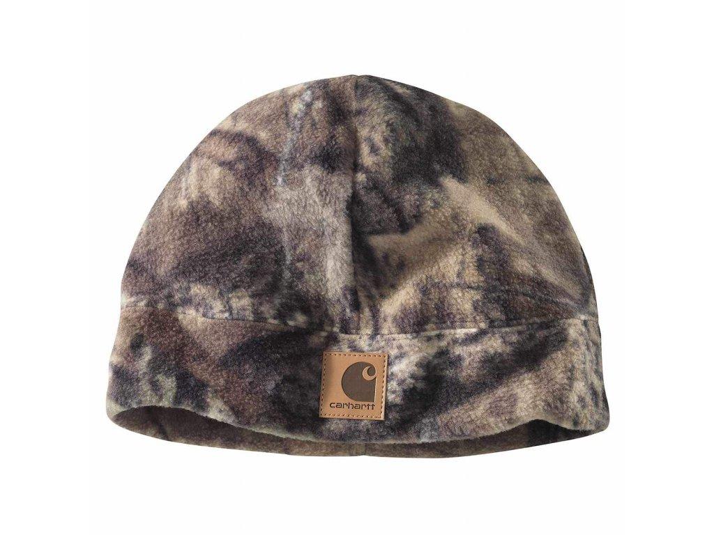 LIMITOVANÁ EDICE čepice Carhartt Camo Fleece Hat