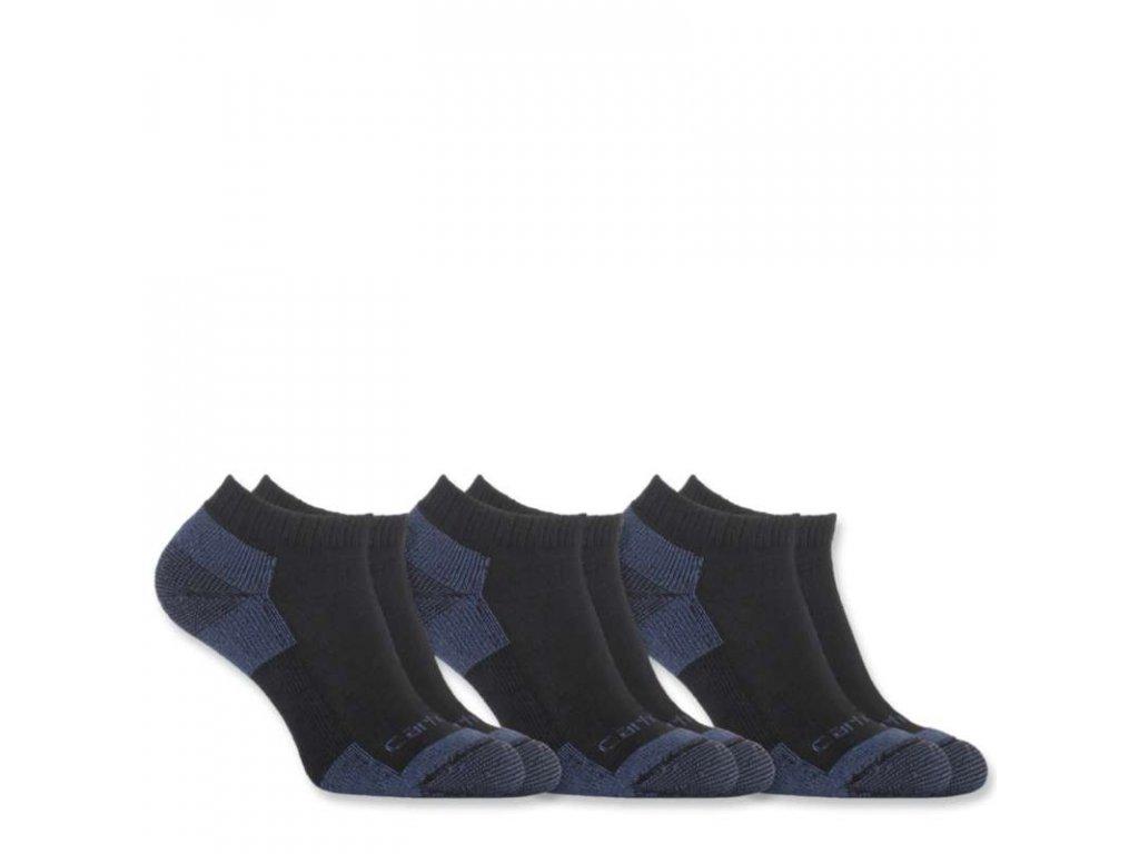 Dámské ponožky Carhartt All Season Cotton Sock 3-pack