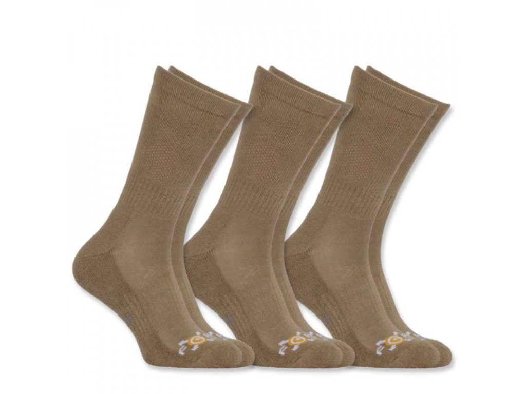 Ponožky Carhartt Fast Drying Sock 3-pack