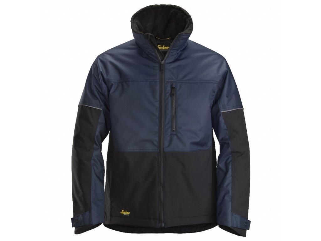 Bunda zimní AllroundWork tmavě modrá Snickers Workwear