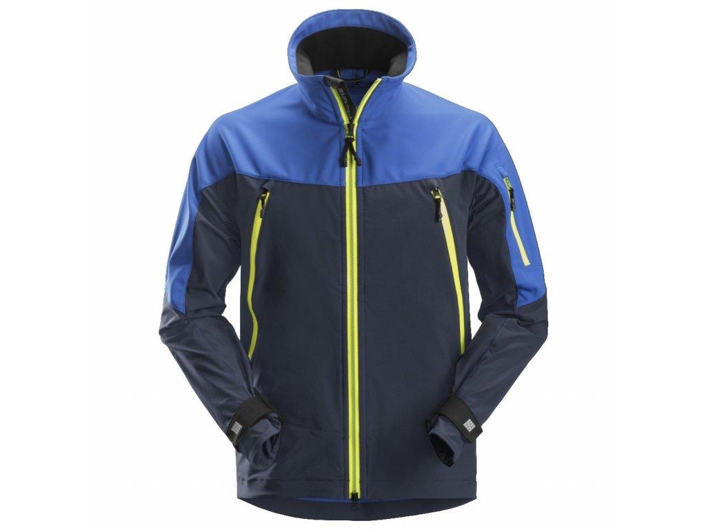 Bunda FlexiWork Stretch modrá XS Snickers Workwear