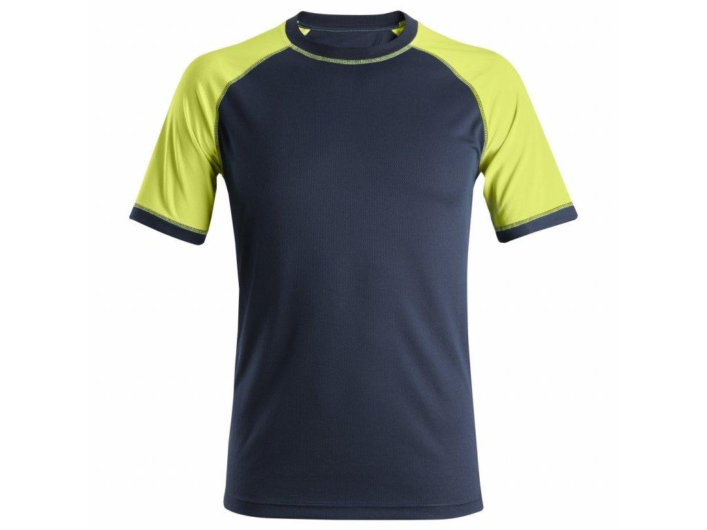 Triko Neon s krátkým rukávem XS Snickers Workwear