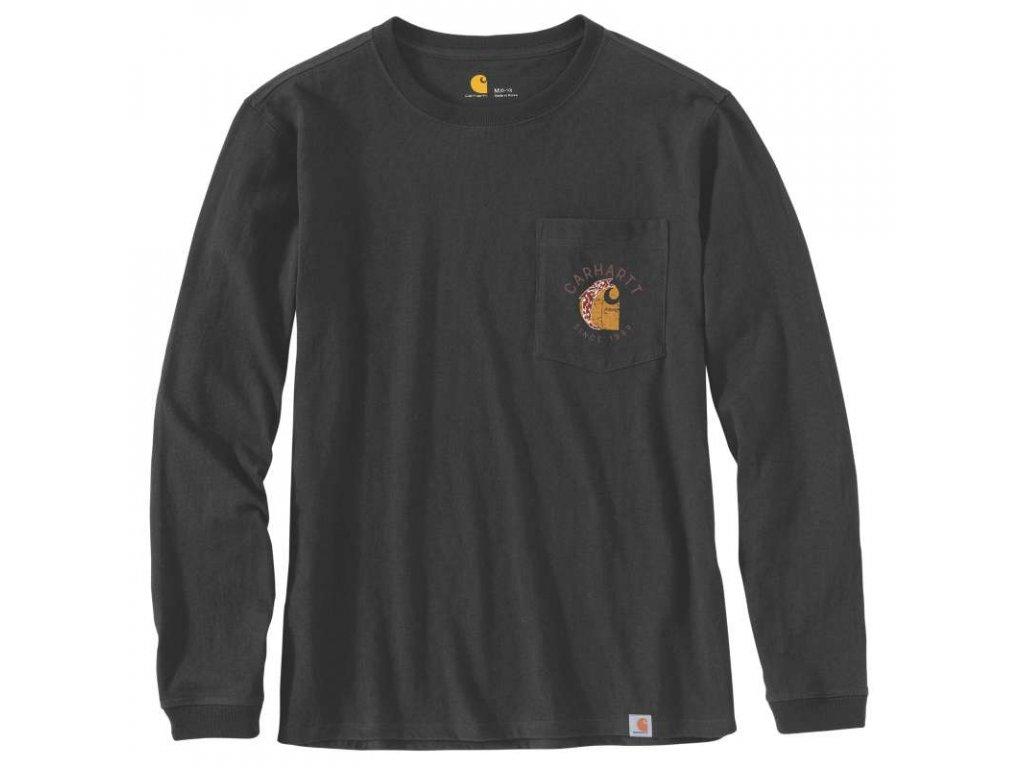 Dámské triko Carhartt Workwear Graphic Back Pocket T-Shirt