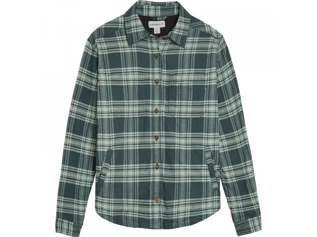 Dámská košile Carhartt Hamilton Plaid Flannel Shirt Jac