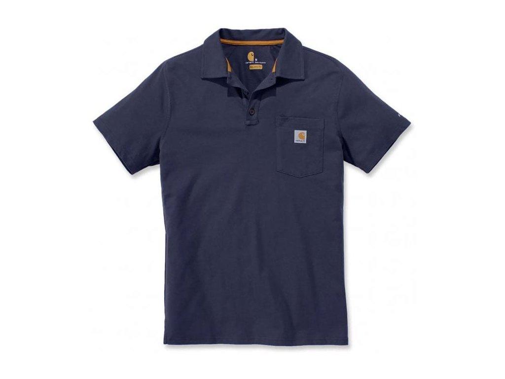 Polo Triko Carhartt Force Cotton Delmont Pocket Polo