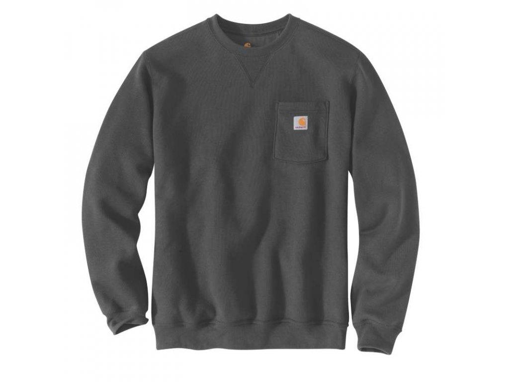 Mikina Carhartt Crewneck Pocket Sweatshirt