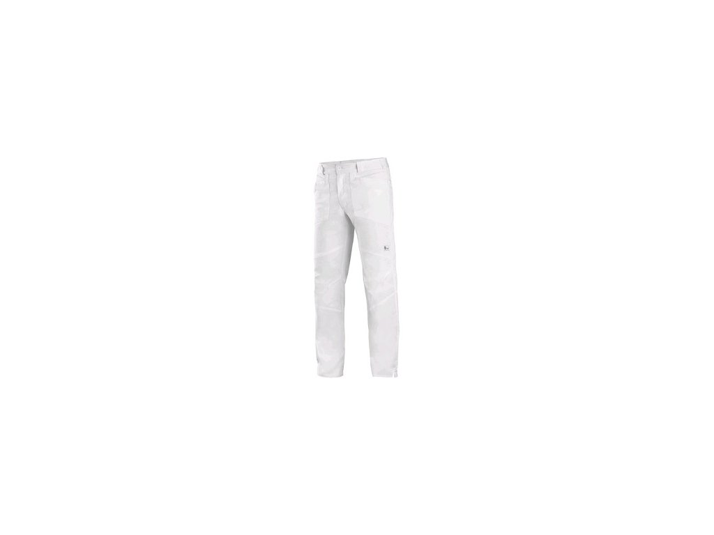 Kalhoty CXS EDWARD, pánské, bílé