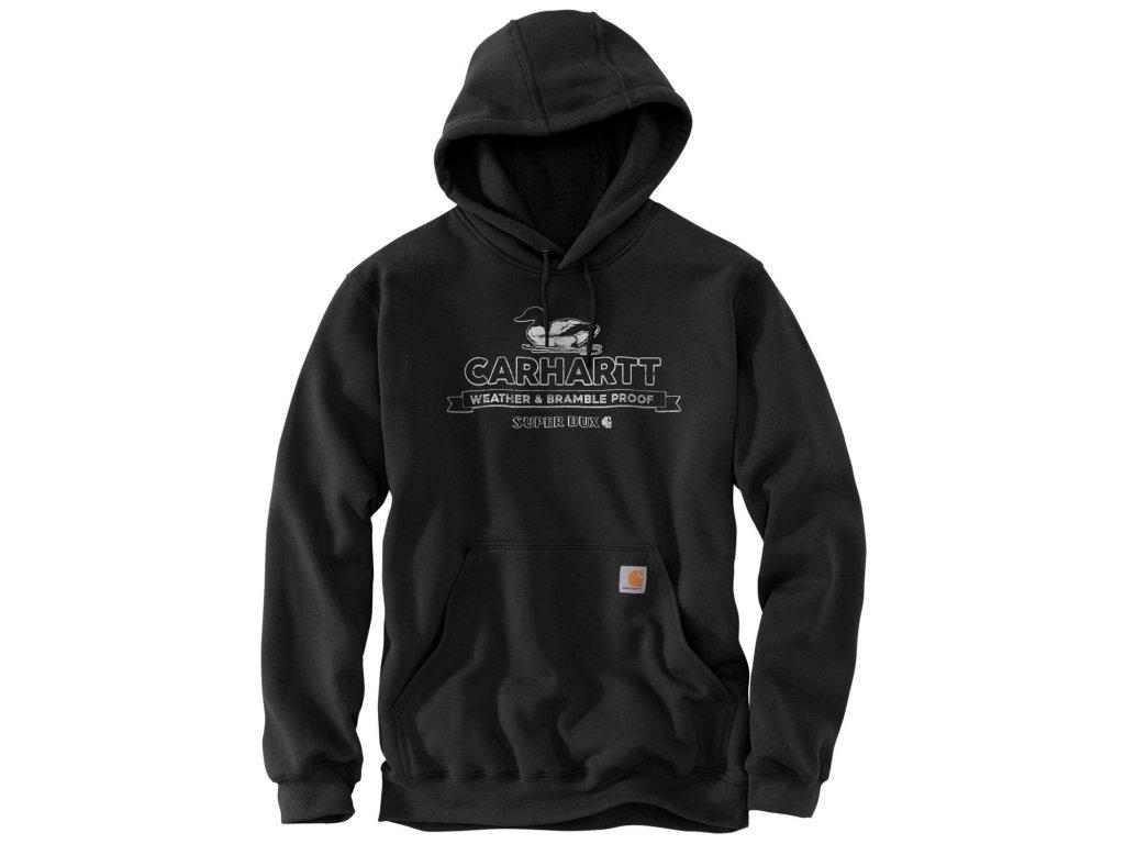 Mikina Carhartt Loose Fit Midweight Super Dux Graphic Sweatshirt