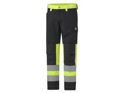 Reflexní kalhoty ALTA Helly Hansen CL1 - žluté Hi-Vis