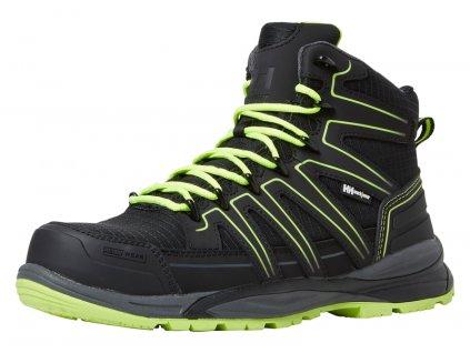 Kotníková obuv s ripstopovým svrškem ADDVIS S3 Helly Hansen 36 černá/žlutá