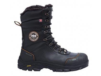 Zimní obuv CHELSEA Helly Hansen 40 černá/oranžová