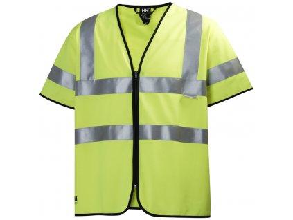 Reflexní vesta s krátkým rukávem ADDVIS Helly Hansen - žlutá M žlutá Hi-Vis