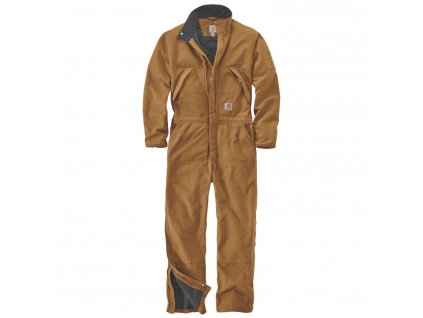 Kombinéza Carhartt Washed Duck Insulated Coverall