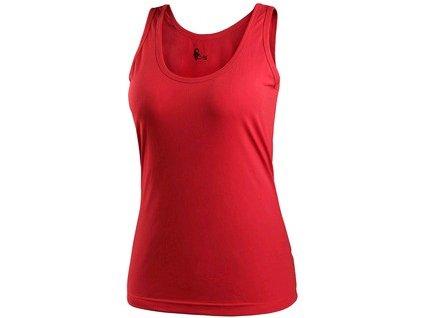 Tílko CXS LINDA, dámské, červené, vel. XS