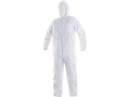 Jednorázový oblek OVERAL, bílý