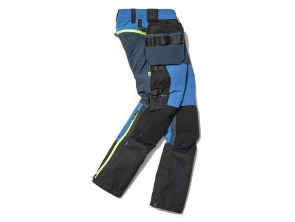 Kalhoty FlexiWork+ Stretch softshell s PK modré Snickers Workwear