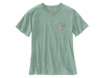 Dámské triko Carhartt Workwear Pocket Short Sleeve Tshirt