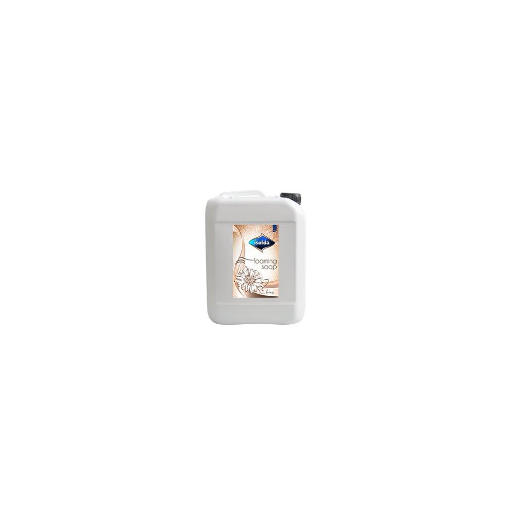 ISOLDA pěnové mýdlo bílé, Luxury 5l