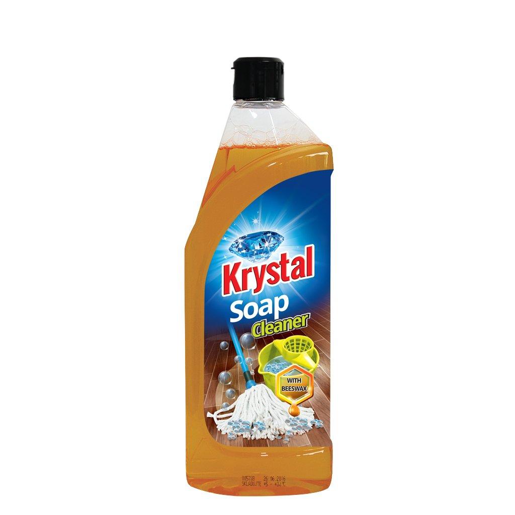 KRYSTAL mýdlový čistič se včelím voskem 750ml
