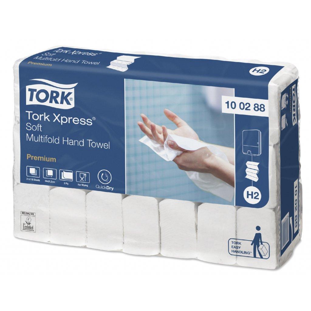 Tork Xpress jemné papírové ručníky Multifold