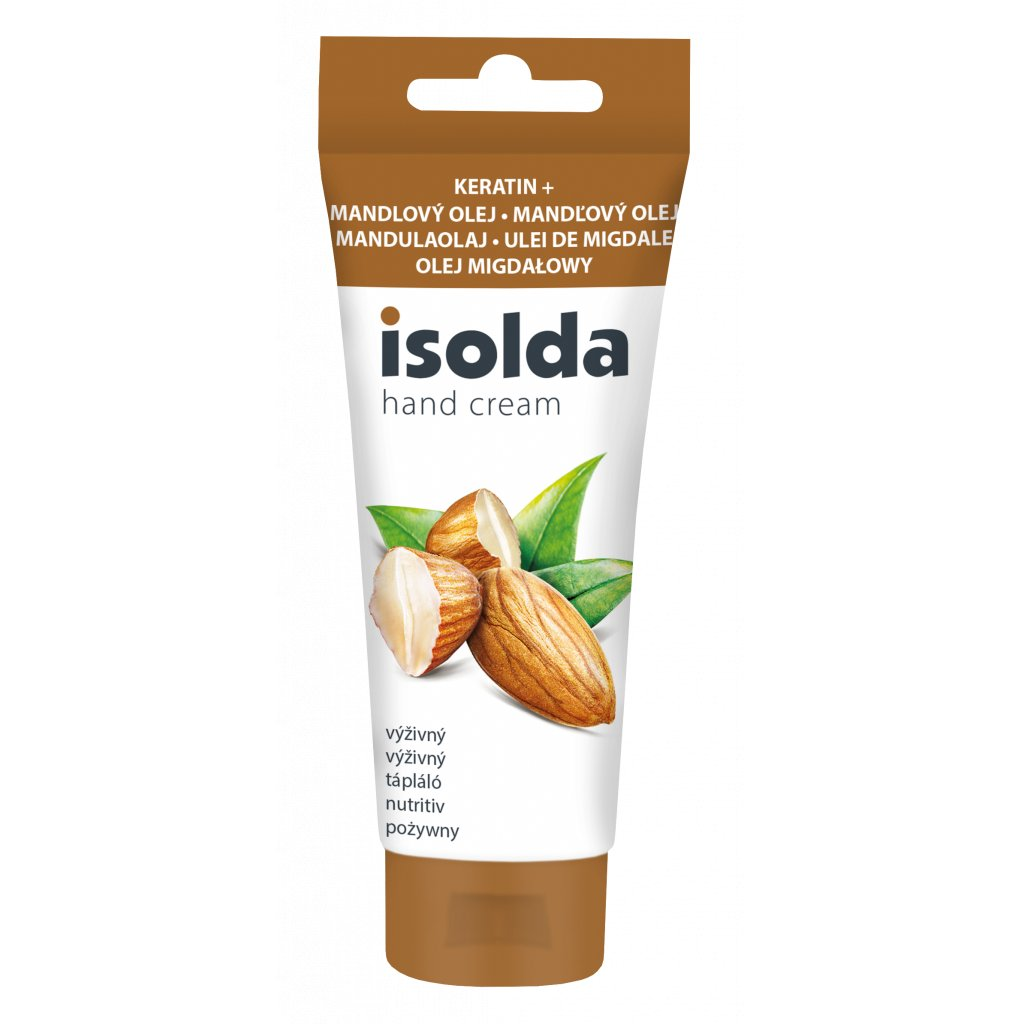 ISOLDA keratin s mandlovým olejem 100ml